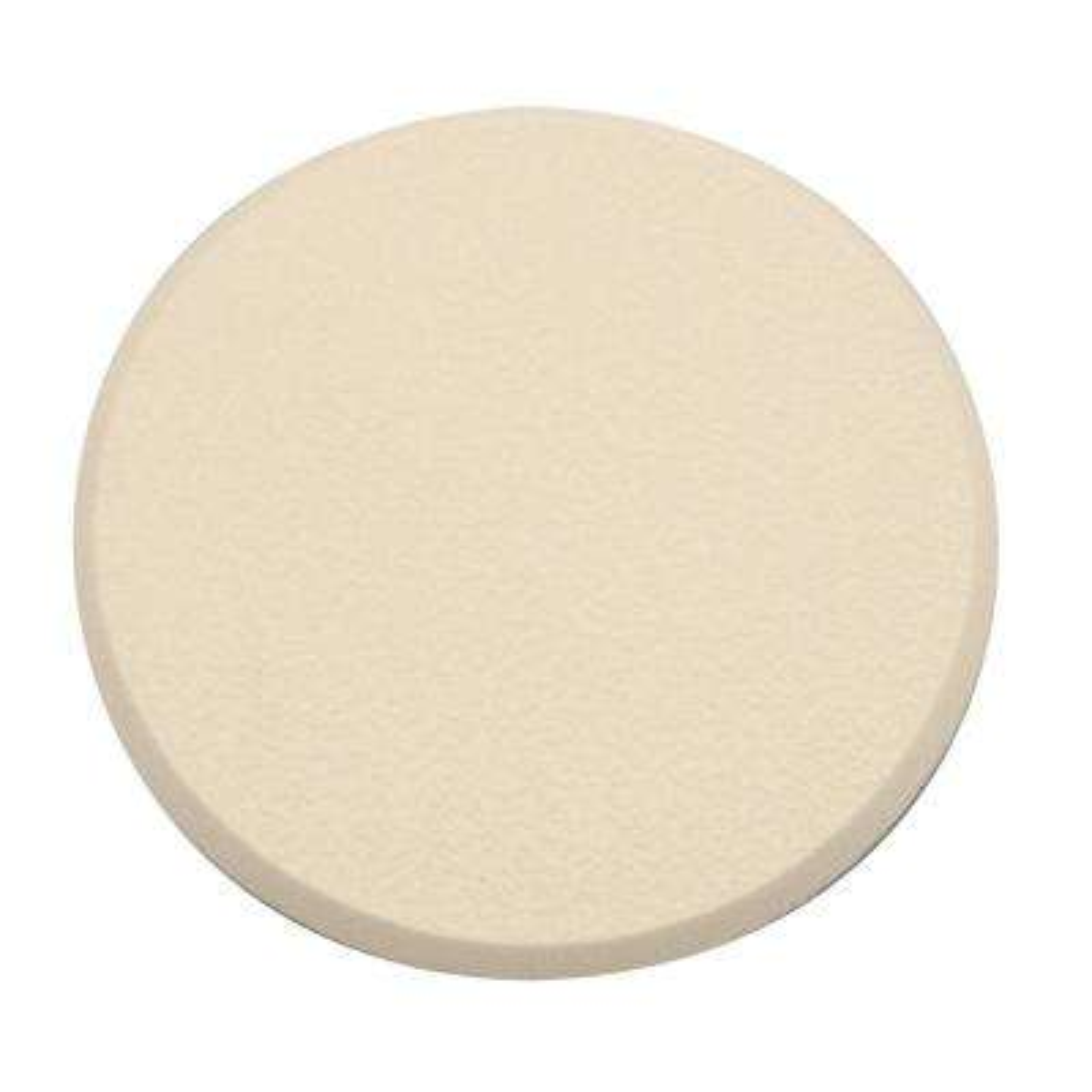 5 in., Rigid Vinyl, Ivory, Self Adhesive Wall Protector