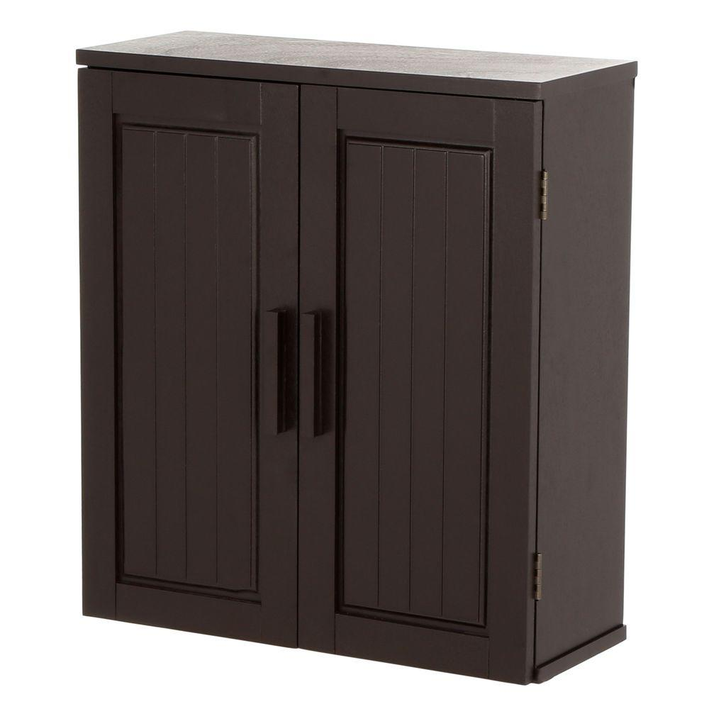 Home Decorators Collection Chelsea 31 1 2 In W Bathroom Storage Wall Cabinet With Mirror In