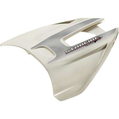 Starfire No-Drill Hydrofoil Stabilizer for 40 HP and Up, White
