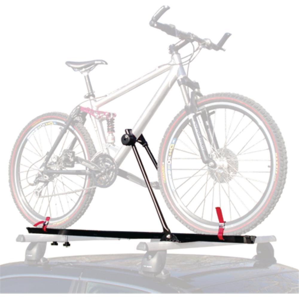 swagman upright roof rack bike rack for 1 bike 64720 the. Black Bedroom Furniture Sets. Home Design Ideas