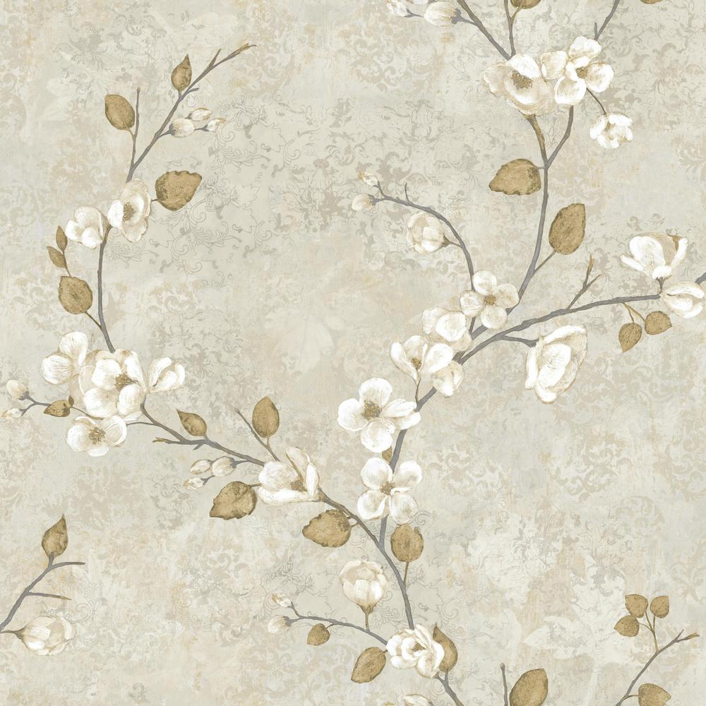York Wallcoverings Charlotte Dogwood Wallpaper Hn5310