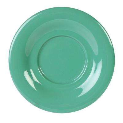 Coleur 5-1/2 in. Saucer for Cr303/Cr9018 in Green (12-Piece)