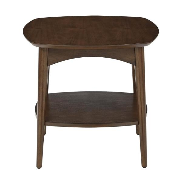 OSP Home Furnishings Copenhagen Walnut Accent Table CPH17-WA
