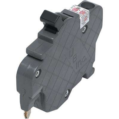 New UBIF Thin 15 Amp 1/2 in. 1-Pole Federal Pacific Stab-Lok NC115 Replacement Circuit Breaker