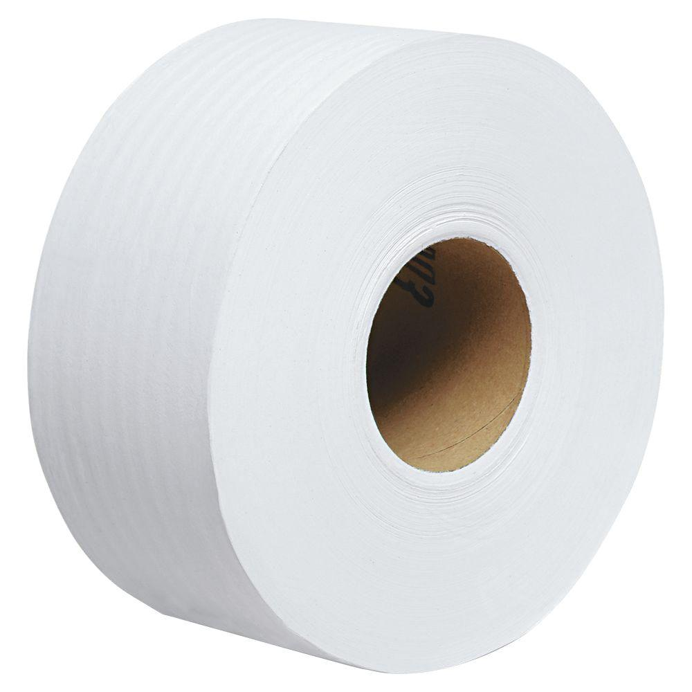 Kimberly-Clark PROFESSIONAL Scott 100% Recycled Fiber Jrt Jumbo Bath Tissue (12 Rolls)