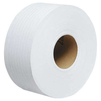 Scott 100% Recycled Fiber Jrt Jumbo Bath Tissue (12 Rolls)