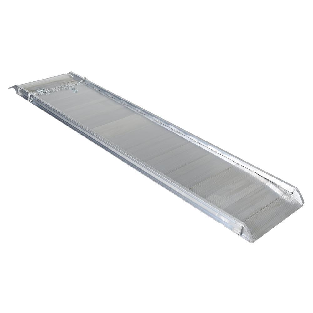 120 in. x 28 in. Aluminum Walk Ramp Overlap Style