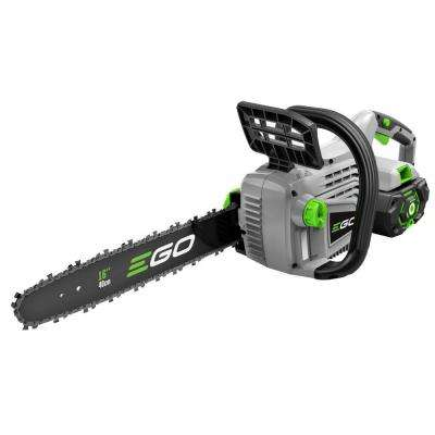 16 in. 56-Volt Lithium-ion Cordless Chainsaw with 5.0Ah Battery and Charger Included