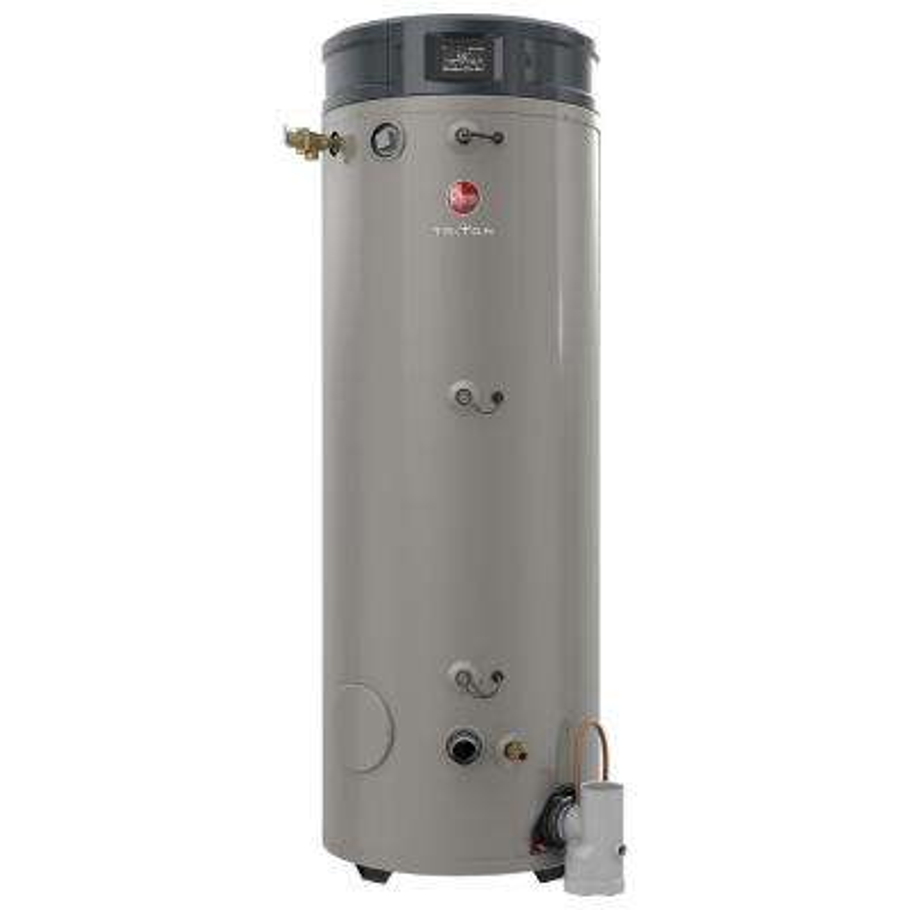 Commercial Triton Heavy Duty High Efficiency 80 Gal. 300K BTU Ultra Low NOx (ULN) Natural Gas Tank Water Heater