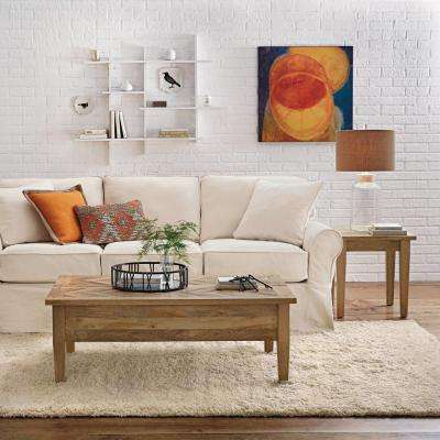 Parquetry French Grey Coffee Table