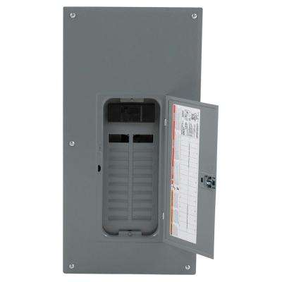 Homeline 200 Amp 20-Space 40-Circuit Indoor Main Breaker Plug-On Neutral Load Center with Cover