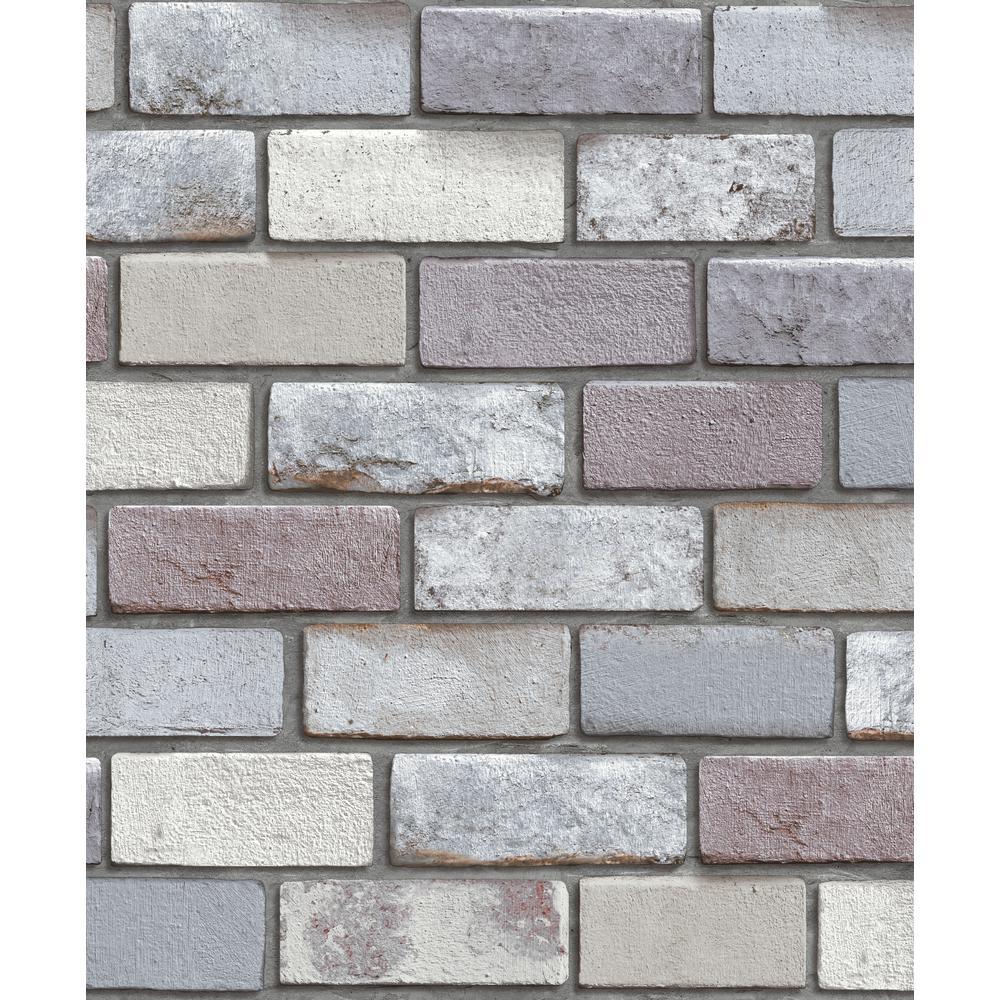 Industrial Brick Wallpaper