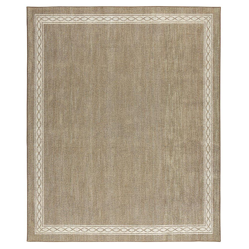 Sparrow Hazel Nut Bone White 8 ft. x 10 ft. Area Rug