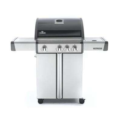 Triumph 410 with Side Burner Natural Gas Grill