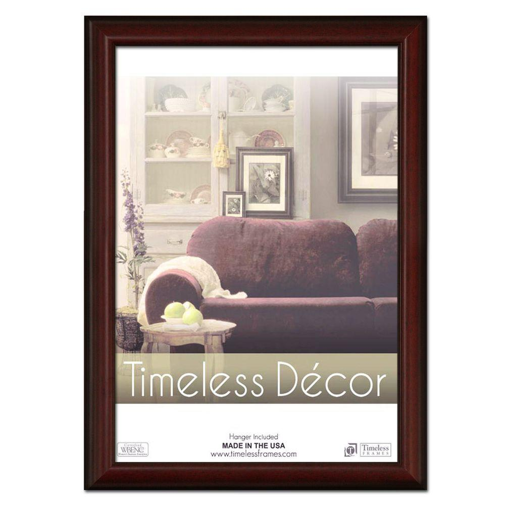 Timeless Frames Huntley 1-Opening 18 in. x 24 in. Cherry Picture ...