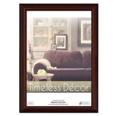 Huntley 1-Opening 18 in. x 24 in. Cherry Picture Frame