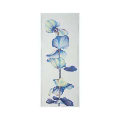 "60 in. x 24 in. ""Botanical"" Hand Painted Framed Canvas Wall Art"