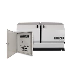 Champion Power Equipment 12,500-Watt Air Cooled Home Standby Generator with 200... by Champion Power Equipment