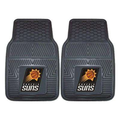 Phoenix Suns 18 in. x 27 in. 2-Piece Heavy Duty Vinyl Car Mat