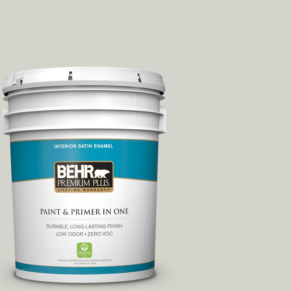 5 gal. #PPU25-10 Soft Secret Zero VOC Satin Enamel Interior Paint