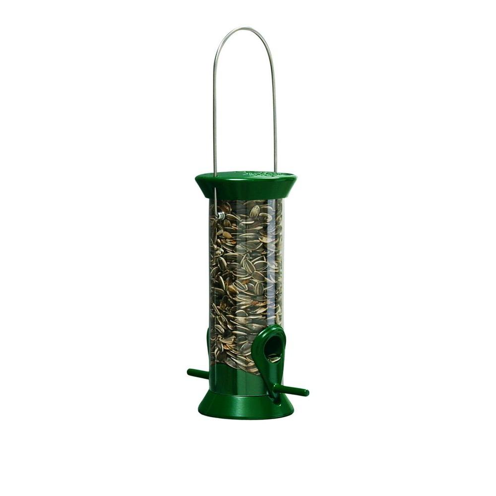 8 in. L New Generation Plastic Sunflower/Mixed Seed Bird Feeder