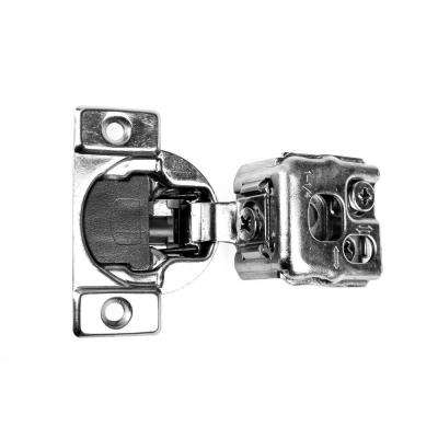 105-Degree 1-1/4 in. (35 mm) Overlay Soft Close Face Frame Cabinet Hinges with Installation Screws (25-Pairs)