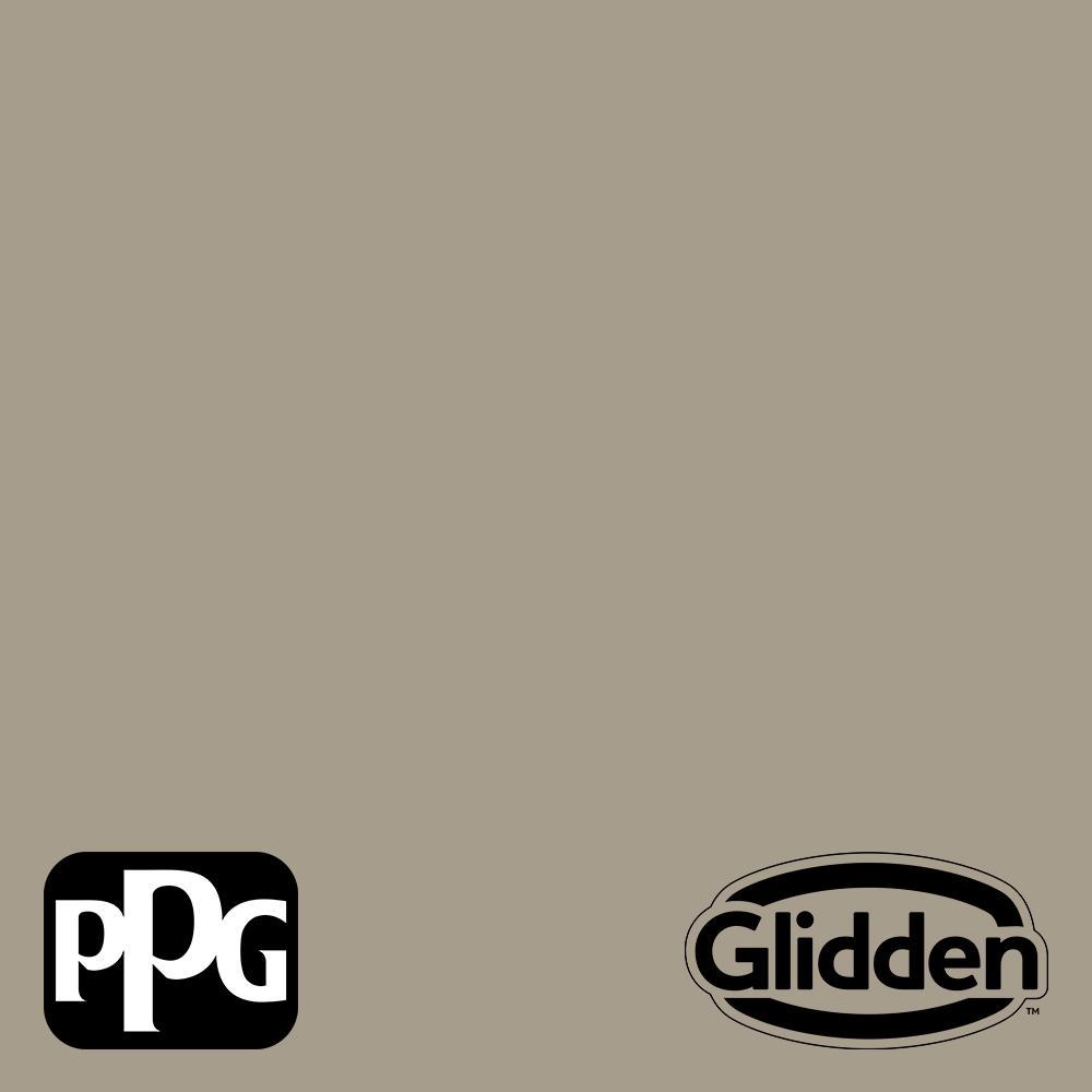GliddenPremium Glidden Premium 5 gal. PPG1024-5 Stonehenge Greige Satin Exterior Latex Paint
