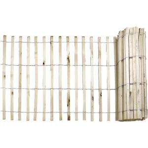 Everbilt 1 4 In X 4 Ft X 50 Ft Natural Wood Snow Fence