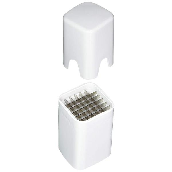 Home Basics Steel White French Fry Cutter