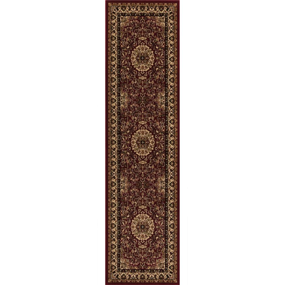 Concord Global Trading Persian Classics Isfahan Red 2 Ft