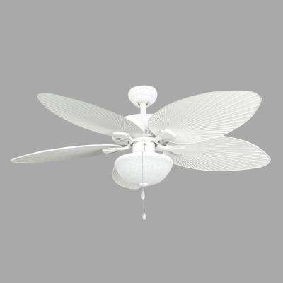 Tortola 52 in. Outdoor White Ceiling Fan
