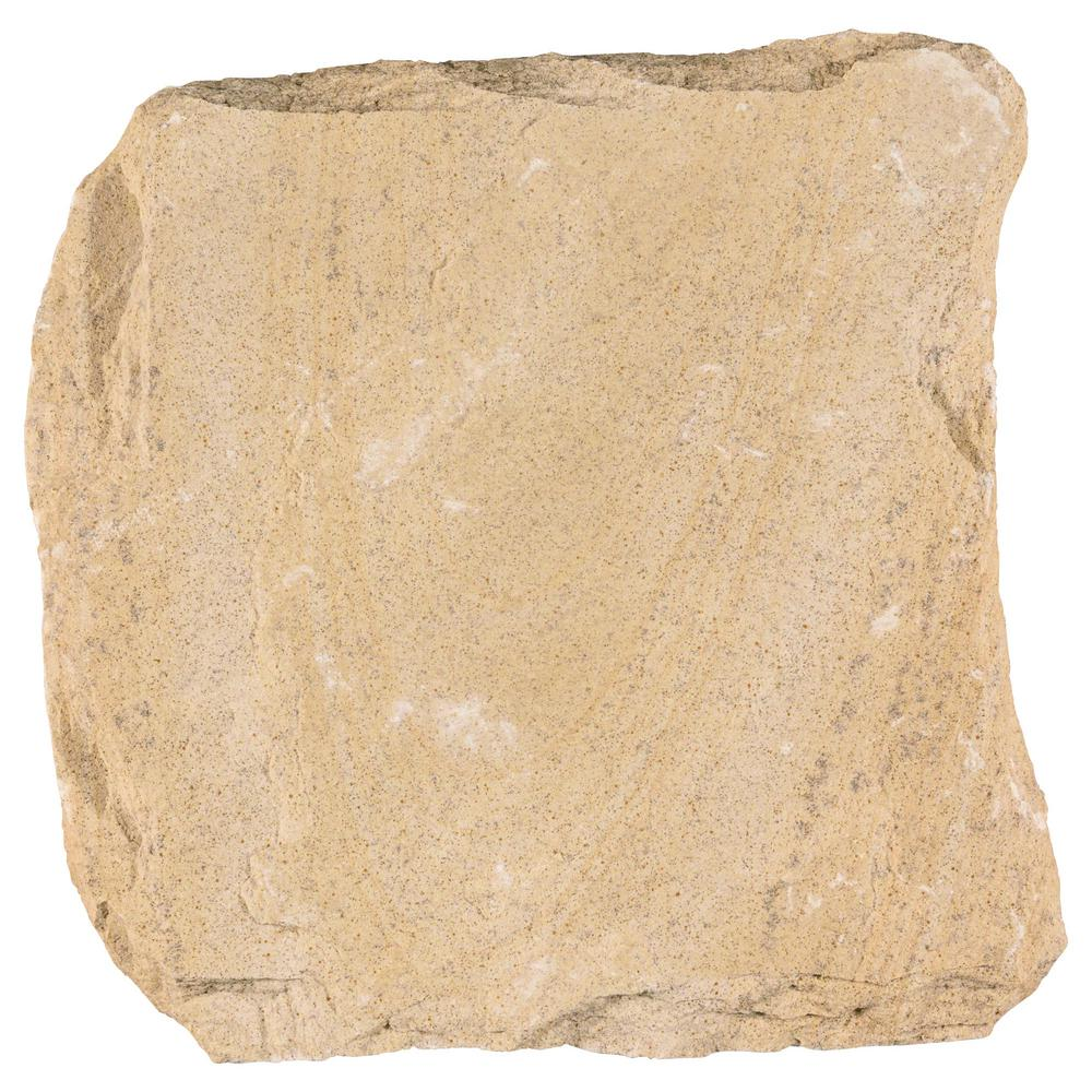 12 in. x 12 in. Boulder Creek Natural Sandstone Step Stone