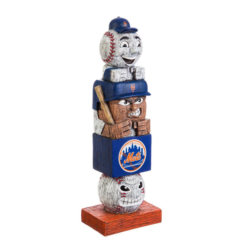 New York Mets Tiki Totem Garden Statue