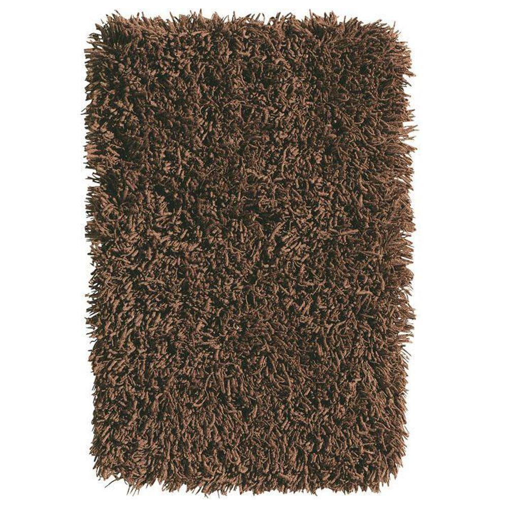 Home Decorators Collection Ultimate Shag Cocoa 8 ft. x 10 ft. Area Rug
