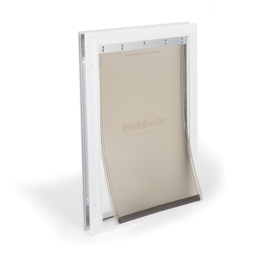 10-1/4 in. x 16-1/4 in. Large Freedom Aluminum Pet Door