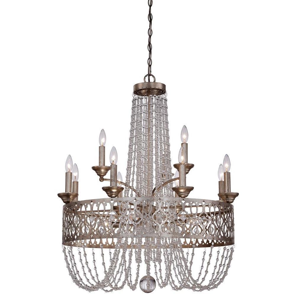 Florentine Dining Room: Minka Lavery Lucero 15-Light Florentine Silver Chandelier