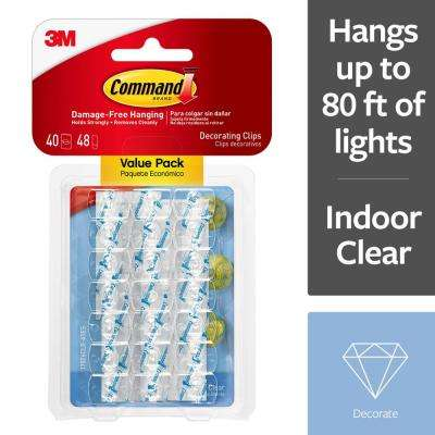Clear Decorating Clips Value Pack (40 Clips, 48 Strips-Pack)