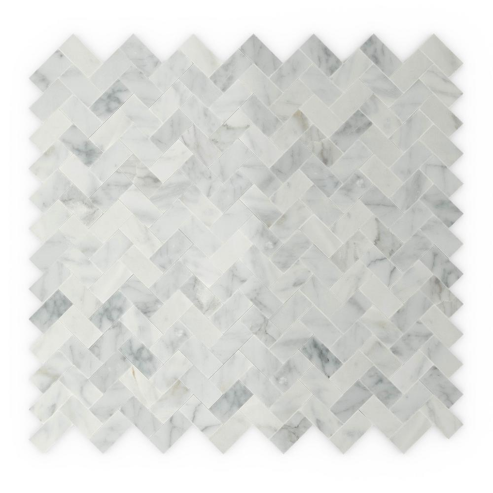 Inoxia SpeedTiles Ocean White and Gray 12 in. x 11.69 in. x 5 mm ...