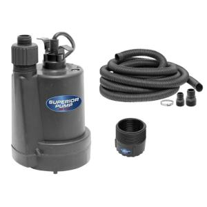 Submersible Utility Pump Drain Remove Water Pool Fountain Pond Flooded Basement