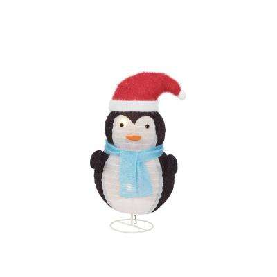 lighted collapsible penguin - Penguin Outdoor Christmas Decorations