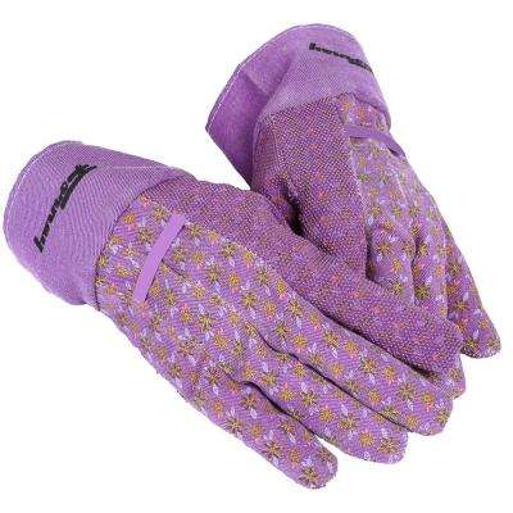 Women's One Size Fits Most Cotton Canvas Garden Gloves
