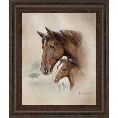 "22 in. x 26 in. ""Race Horse I"" by Ruane Manning Framed Printed Wall Art"