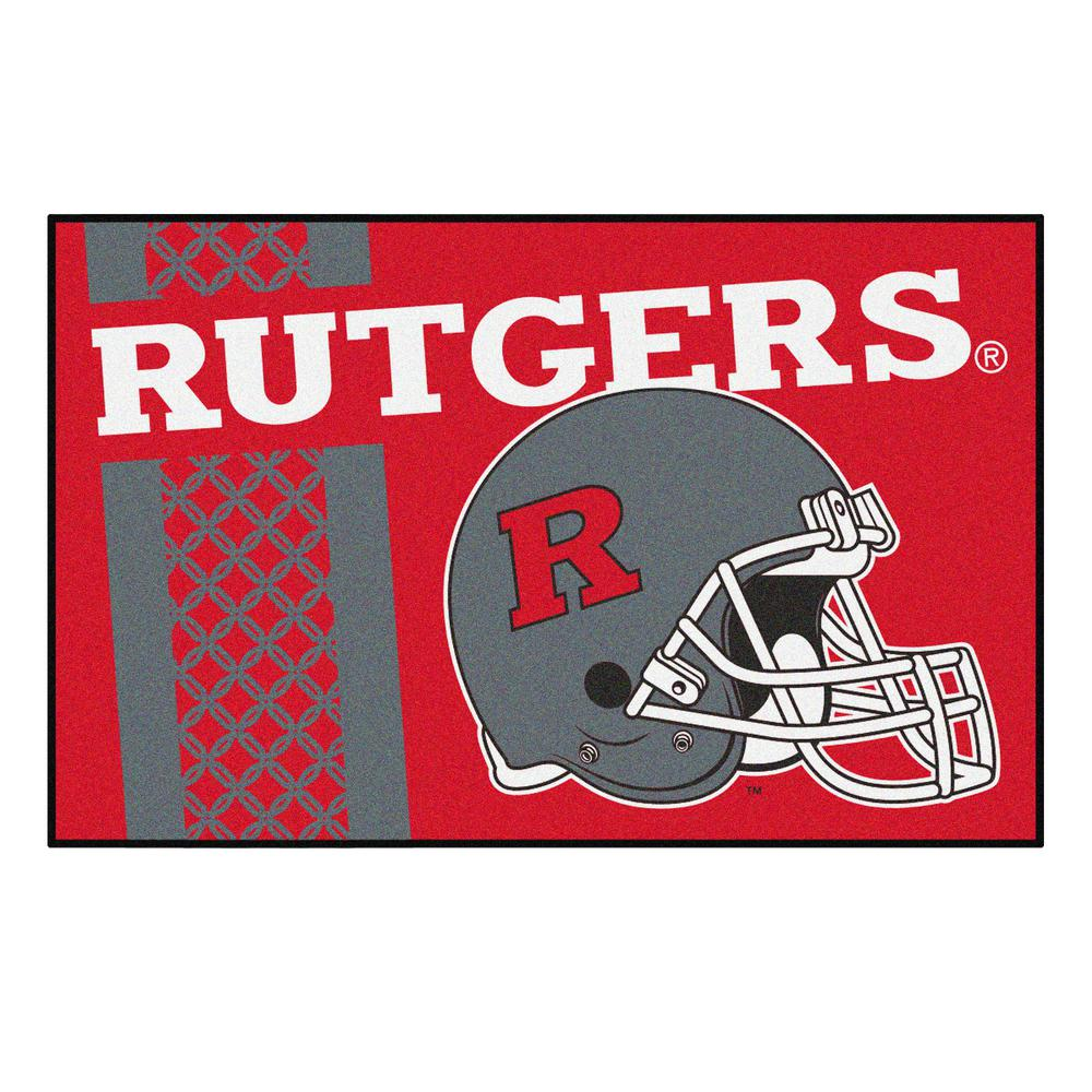NCAA - Rutgers University Red 1 ft. 7 in. x 2