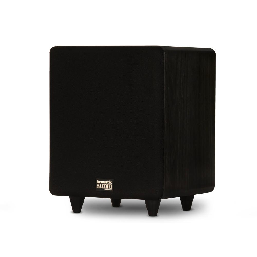 Acoustic Audio by Goldwood Home Theater Powered 8 in. LFE Subwoofer Front Firing Sub