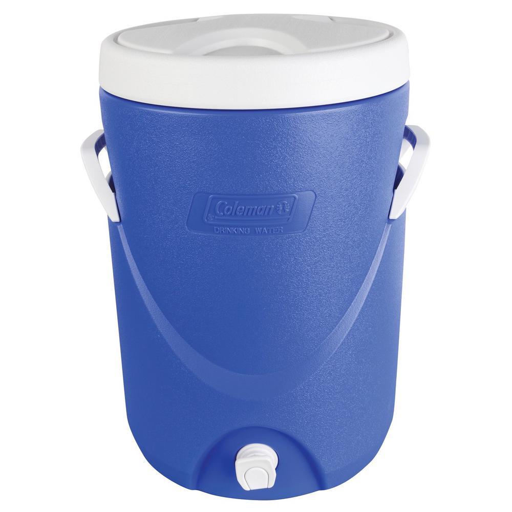 5 Gal. Beverage Cooler Blue