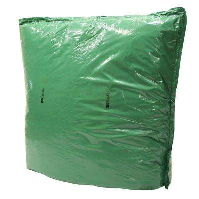 60 in. L x 48 in. H Large Fiberglass Encapsulated Green Plastic Insulation Pouch