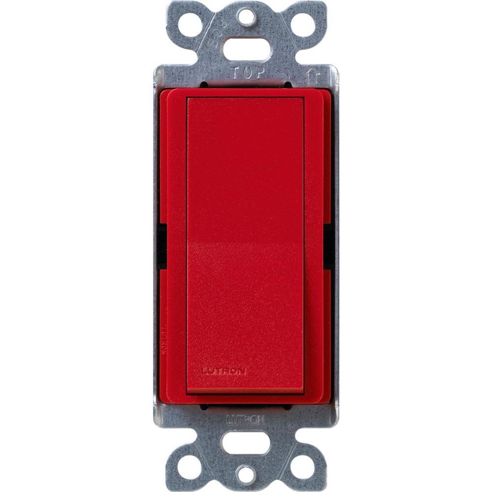 Claro On/Off Switch, 15-Amp, Single-Pole, Hot