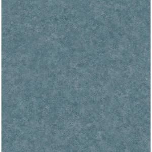 Cielo Blue Distressed Texture Wallpaper