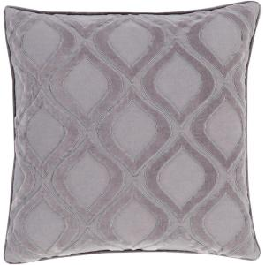 Artistic Weavers Roeselare Gray Geometric 18 inch x 18 inch Decorative Pillow by Artistic Weavers