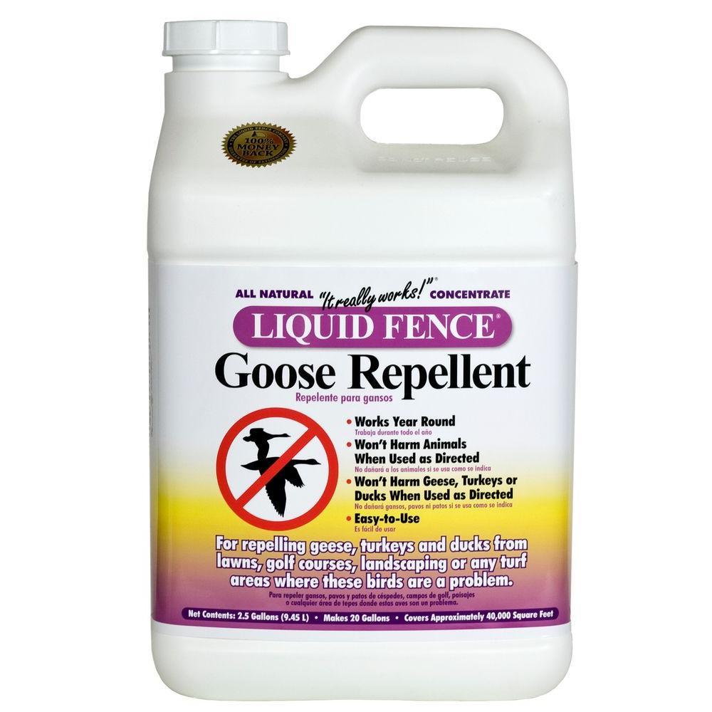 Liquid Fence 2.5 gal. Concentrate Goose Repellent